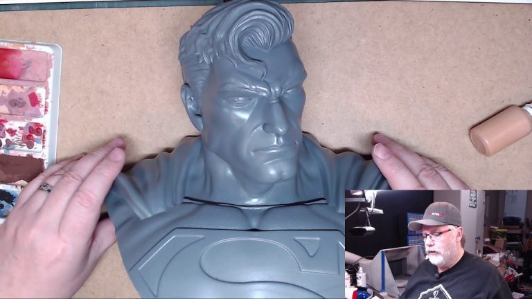 Painting the Man of Steel 3D print: Part 1