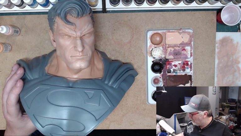 Painting the Man of Steel: Part 2