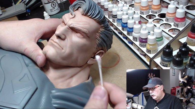 Painting the Man of Steel: Part 4