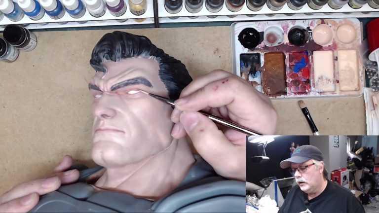 Painting the Man of Steel: Part 7