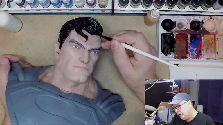 Painting the Man of Steel: Part 9