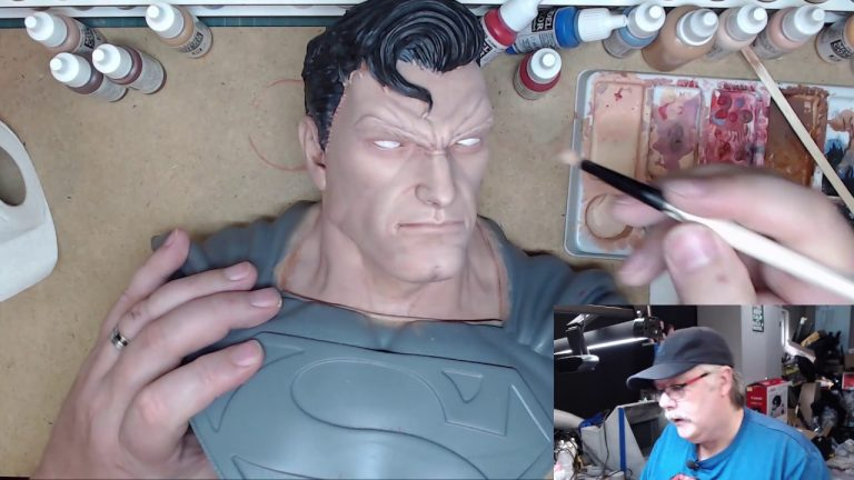 Painting theMan of Steel: Part 5