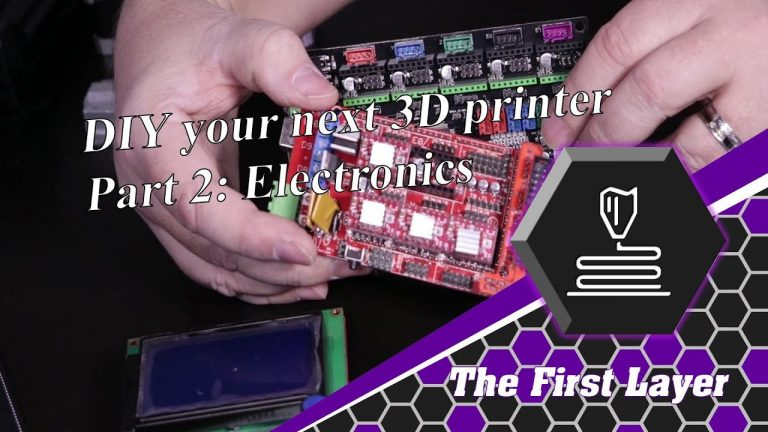 DIY 3D Printer Part 2: Electronics