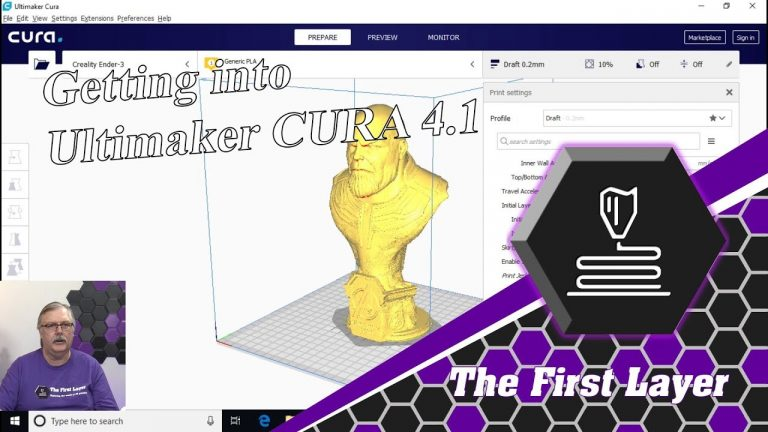 An introduction to Cura 4.1