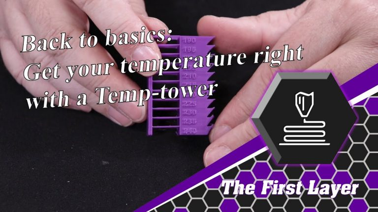 Back to basics: How to print a Temperature Tower
