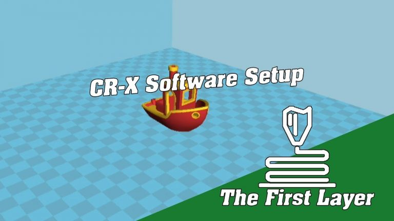 CR-10 Part 2:Software installation and configuration