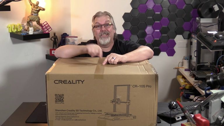 Creality CR-10s Pro Part 1: The Unboxing and (attempted) Set-Up
