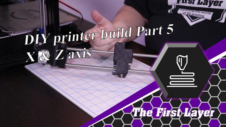 DIY build: Part 5: X & Z