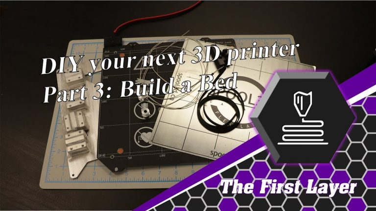DIY Printer Part 3: Build a Bed