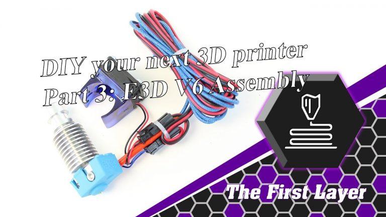 DIY printer Part 4: E3D hotend