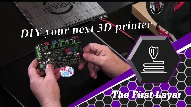DIY your next 3D printer Part 1