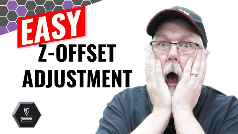 Easy Z-Offset adjustment for your 3D printer
