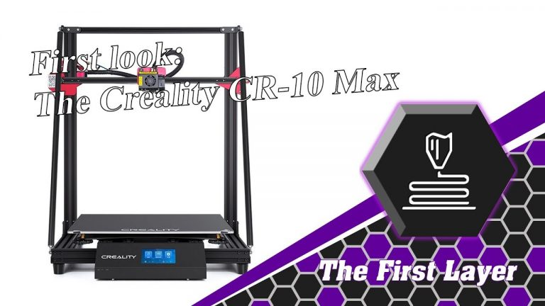 First look: Creality 3D's CR-10 Max