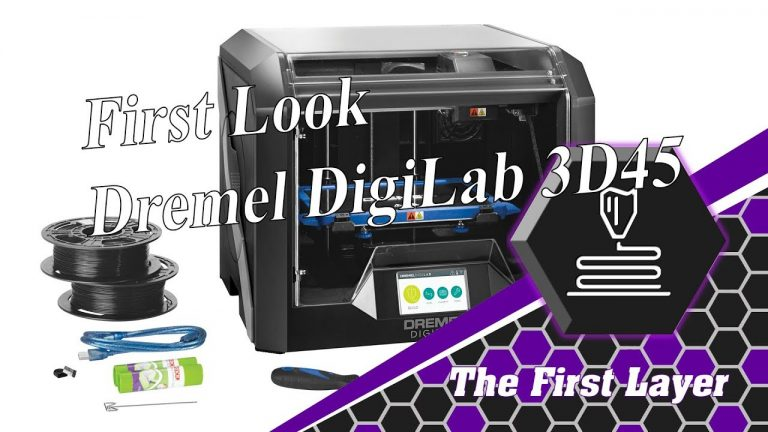 First Look: Dremel DigiLab 3D45