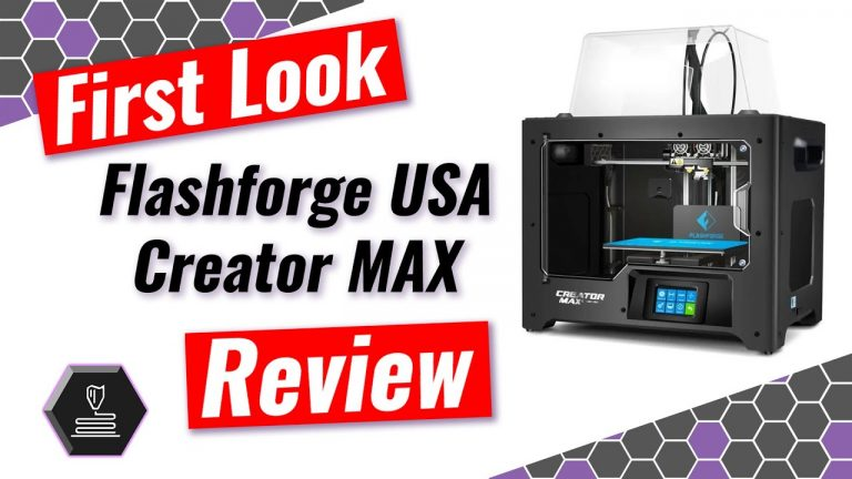 First Look Flashforge Creator Max