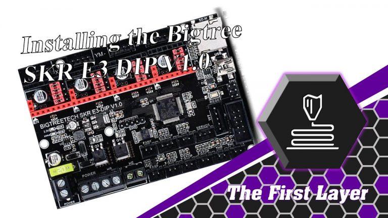 How to install the SKR E3 DIP