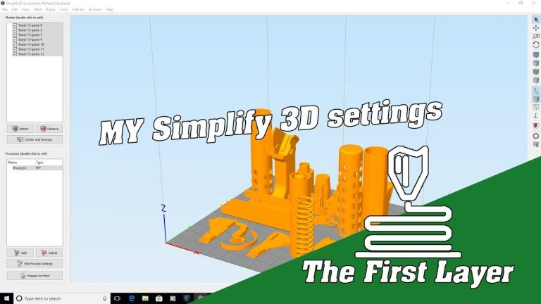 Inside my basic print settings in Simplify 3D