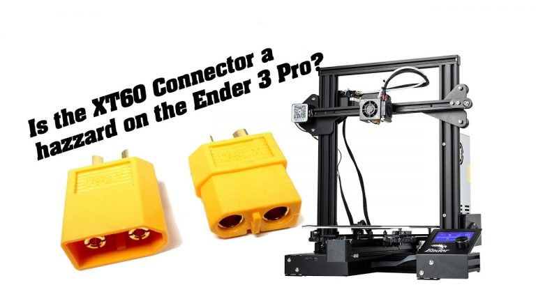 Is the Ender 3's XT60 connector too hot to handle?
