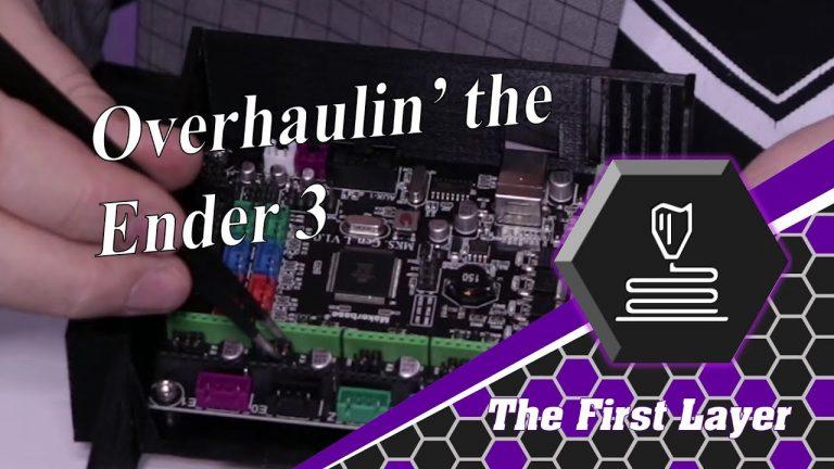 Overhaulin' the Ender 3 Part 1