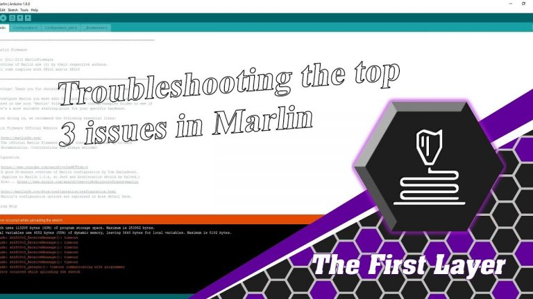 Top 3 Marlin Issues and Quick Fixes