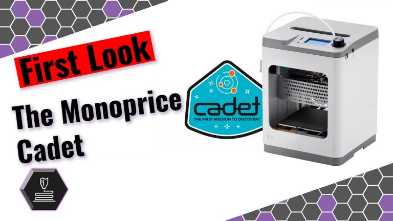 FIRST LOOK: Monoprice Cadet: May 14, 2020