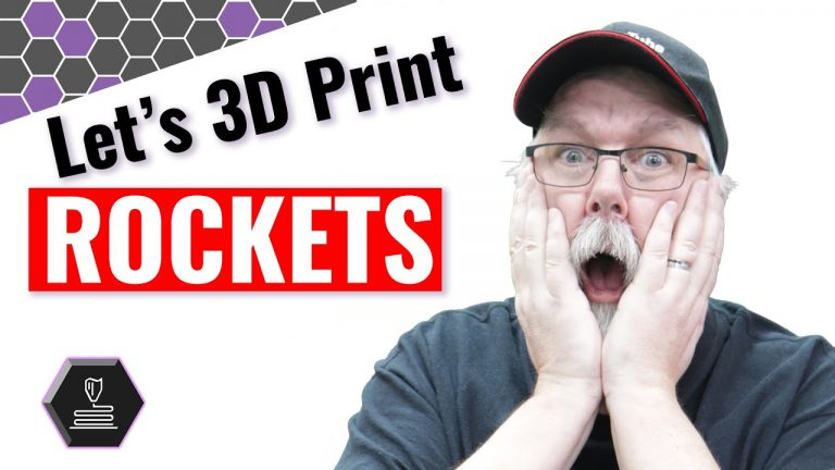 Let's 3D print ROCKETS •Jun 3, 2020