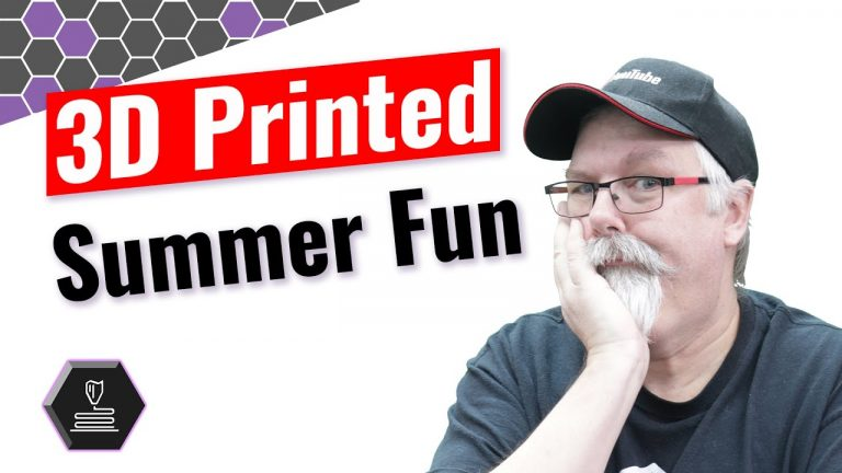 3D printed summer fun •Aug 6, 2020