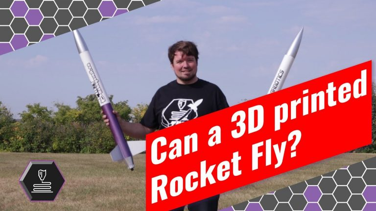 Flying a 3D printed Rocket • Sep 9, 2020