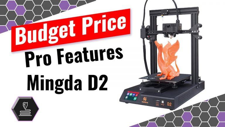 Budget price, Pro features, The Mingda D2 •Sep 24, 2020