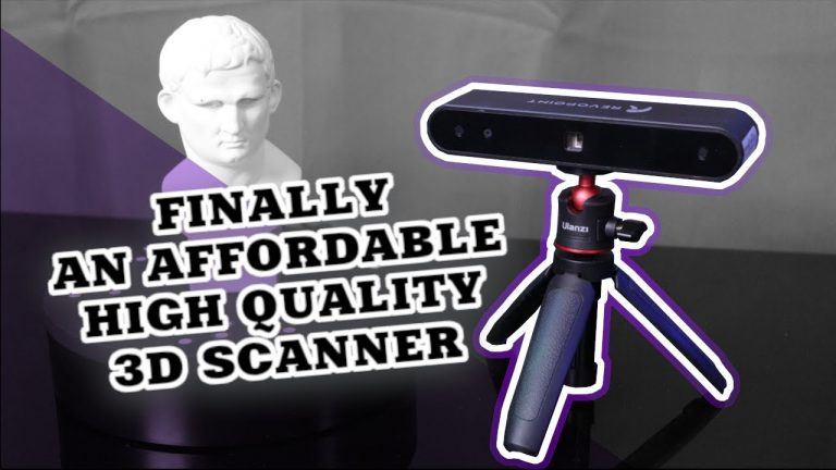 Affordable 3d scanning: Revopoint POP 3D scanner review – January 9, 2021